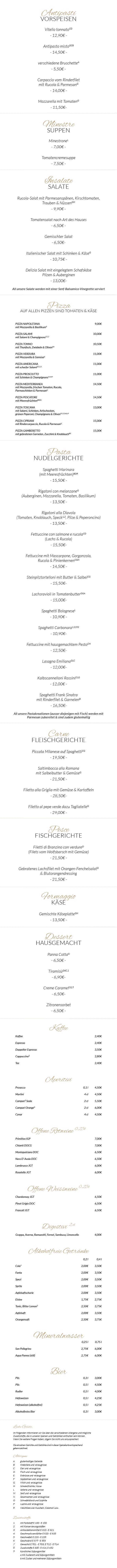 Trattoria-Toscana-Heidelberg-Speisekarte